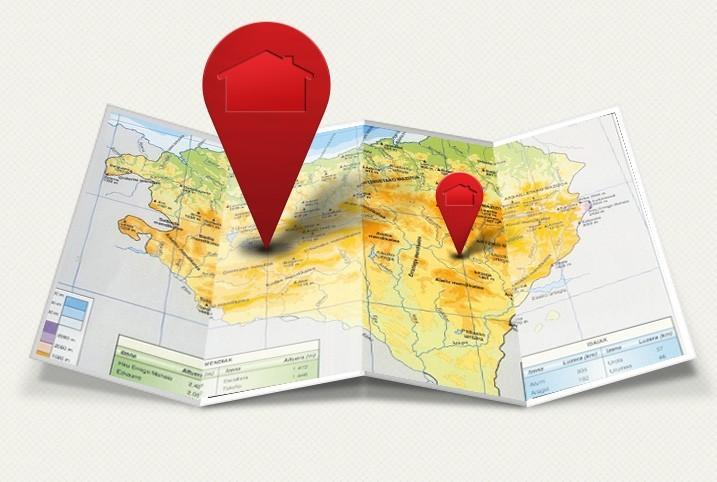 Kaiku Km0-mapa de baserris